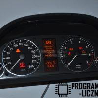 mercedes-w169-w245-naprawa-wyswietlacza